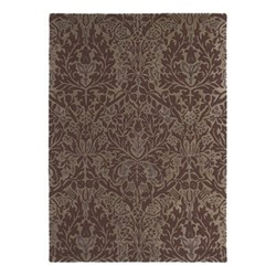 Autumn Flowers Rug, 170 x 240cm, plum