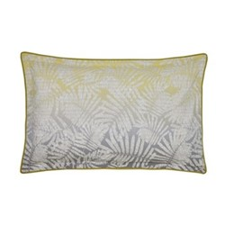 Espinillo Oxford pillowcase, L48 x W74cm, yellow