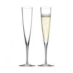 Elegance Collection Pair of champagne flutes, 34.5cm