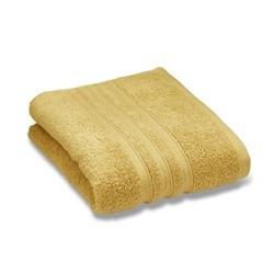 Zero Twist Pair of face cloths, 30 x 30cm, ochre