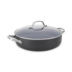 Venice Pro Shallow casserole with lid, 30cm - 4.8 litre, ceramic non-stick