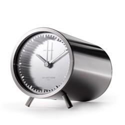 Tube by Piet Hein Eek Desk clock, L8 x D5cm, steel