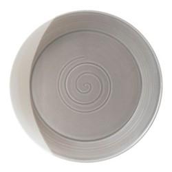 Bowls of Plenty Low serving bowl, 31.5cm, brown/grey