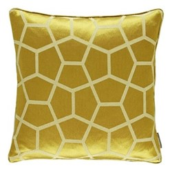 Momentum 12  Glyptic Cushion, L50 x W50cm, chartreuse