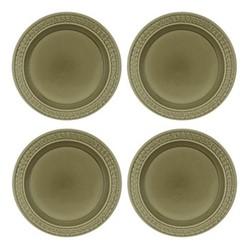 Botanic Garden Harmony Set of 4 plates, 20cm, green