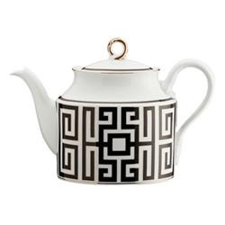 Labirinto Teapot, 1.62 litre, nero