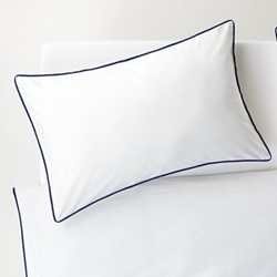 Bobbi Super king size duvet and pillowcase set, navy