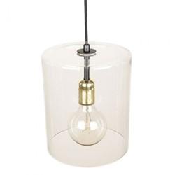 Ludlow Pendant light, 25.2 x 19.5cm, mouth blown glass