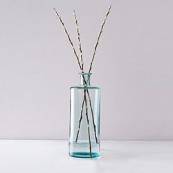 Soho Bottle glass vase, H40 x D15cm, recycled glass