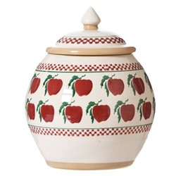 Apple Cookie jar, H22.9 x W10.8cm