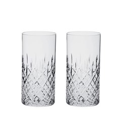 London Pair of tall tumblers, 15cm - 35cl
