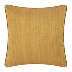 Silk cushion, 45 x 45cm, gold