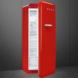 FAB28LRD3UK Tall fridge, red