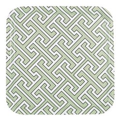 Maze Square tray, 32 x 32cm, sage
