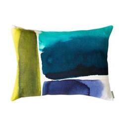 Muralla Cushion, 61 x 45cm, azure