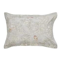 Chiswick Grove Oxford pillowcase, L48 x W74cm, silver