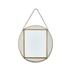 "Teema Oval frame, 8 x 10"", antique brass"