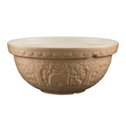 In The Forest Bear Mixing bowl, 24cm, brown