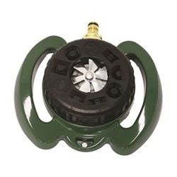 Turret sprinkler, H19 x W21cm, green