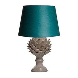 Artur Large table lamp - base only, H38 x W23cm, stone crackle glaze
