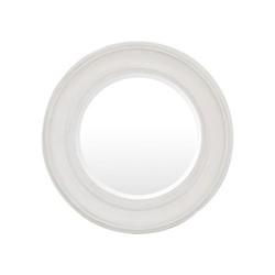 Buckingham Round mirror, D74cm, off white