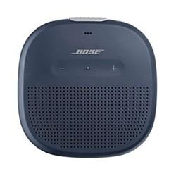 Soundlink Micro portable bluetooth speaker, H9.83 x W9.83 x D3.48cm, blue