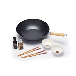 World of Flavours - Oriental Stir fry gift set, Dia30cm