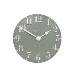 Arabic Wall clock, Dia51cm, seagrass