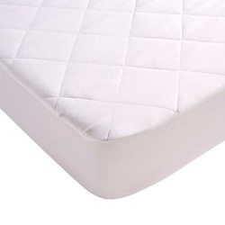 Anti-Allergy King size mattress protector, L200 x W150cm, peach