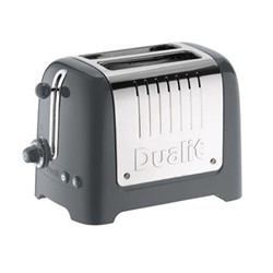 Lite 2 slot toaster, grey