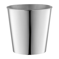 Ice Champagne cooler, H20cm x W20cm, silver plate