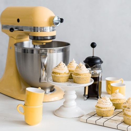 Artisan Stand mixer, 4.8 litre, majestic yellow