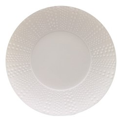 Sania Set of 6 dinner plates, 27.5cm, white