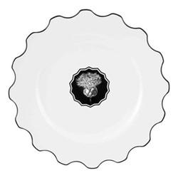 Herbariae Dinner plate, 28cm, white