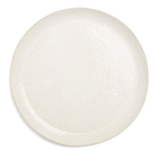 Abbey Set of 4 side plates, Dia22cm, ivory