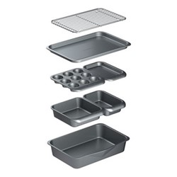 Smart Space 7 piece bakeware set, non-stick