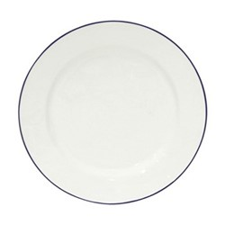 Beja Set of 6 dinner plates, 28cm, white