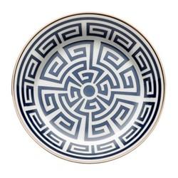Labirinto Tea saucer, 13.5cm, zaffiro