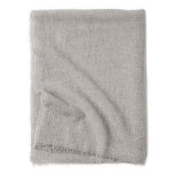 Esra Fine woven lightweight two-tone throw, 200 x 145cm, Mist