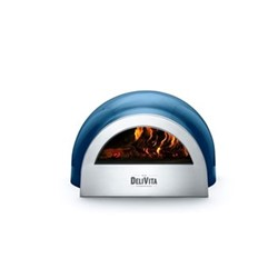 Complete Collection Wood-fired outdoor oven, H35 x W59 x H65cm, blue diamond
