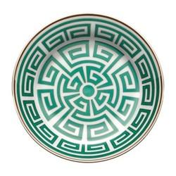 Labirinto Tea saucer, 13.5cm, smeraldo
