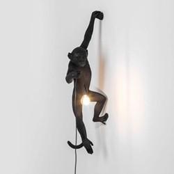 Hanging, left Lamp, H76.5cm, black
