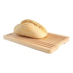 Hevea Bread board, W25 x L36cm, hevea