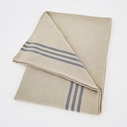 Maxime Tablecloth, W180 x L320cm, linen / blue