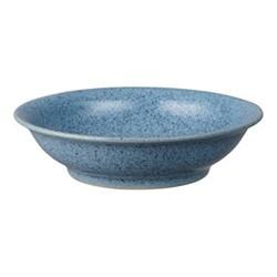 Studio Blue Medium shallow bowl, 15.5 x 4cm, flint