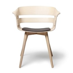 Wick Chair, 57 x 50.5 x 75cm, ash/black
