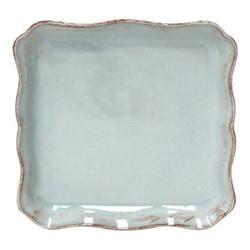 Alentejo Pair of square trays, 21cm, turquoise