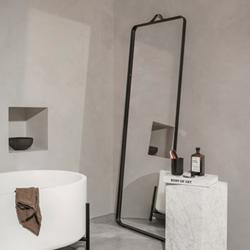 Norm Floor mirror, H170 x W60 x D3.5cm, Black