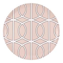 Loop Round tray, D38cm, blush