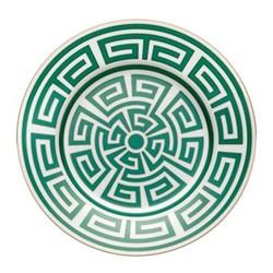 Labirinto Plate, 22cm, smeraldo